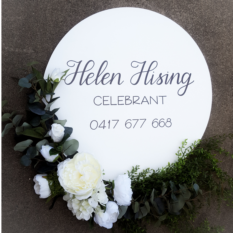 Helen Hising - Marriage Celebrant